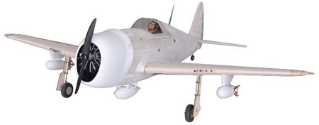 Seagull Models P-47D Thunderbolt RC Plane Kit