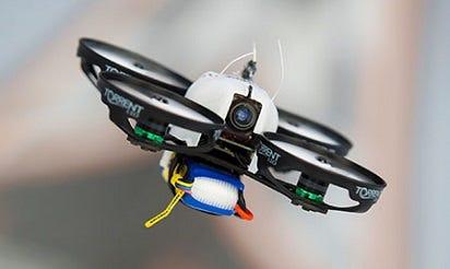 Flying drones