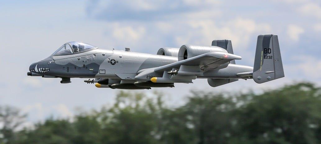 A-10 Warthog plane replica