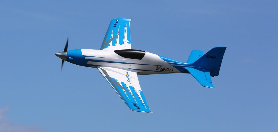 high-speed RC plane