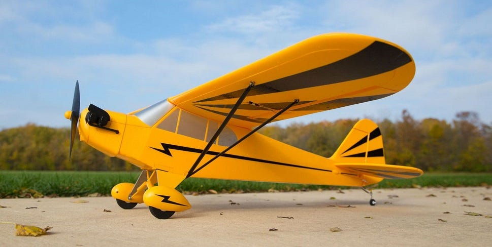 E-Flite Clipped Wing Cub