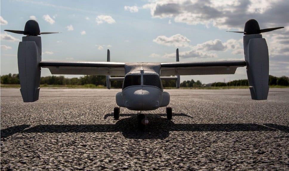 VTOL RC plane