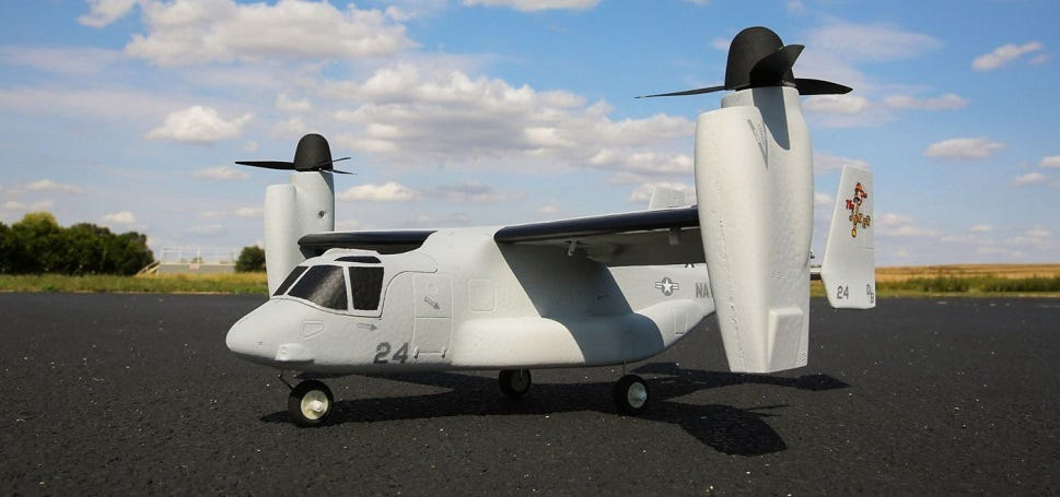 RC Bell Boeing V-22 Osprey