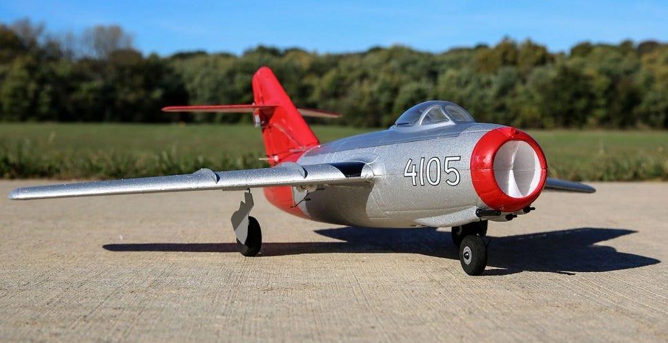 E-Flite UMX MiG-15 EDF RC Jet