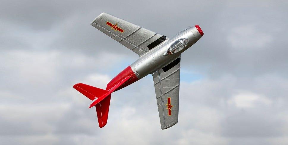 E-Flite UMX MiG-15 replica