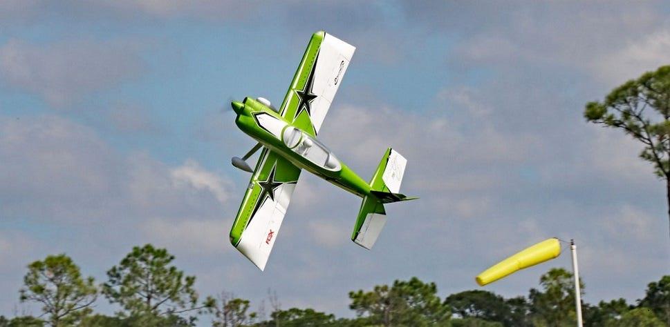 Aerobatic RC Plane