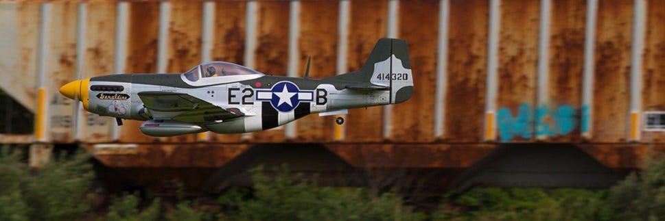 Hangar 9 Mustang 20cc