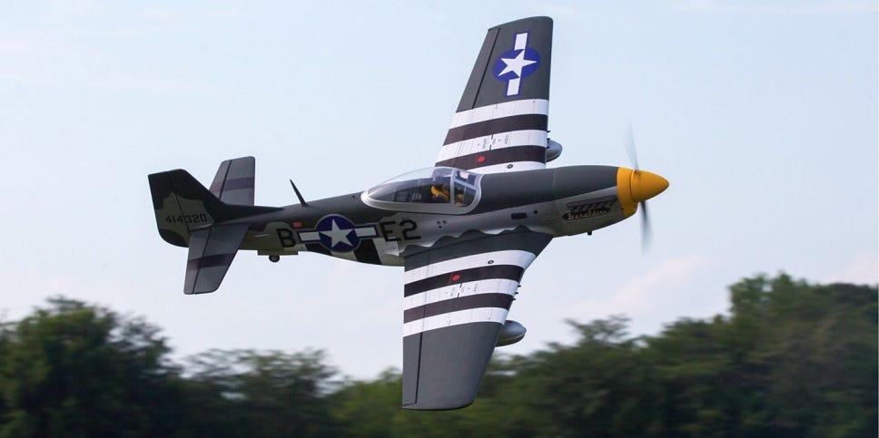 Hangar 9 20cc Mustang RC Plane