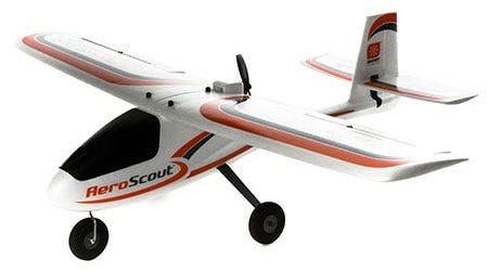 HobbyZone AeroScout S RC Trainer Plane