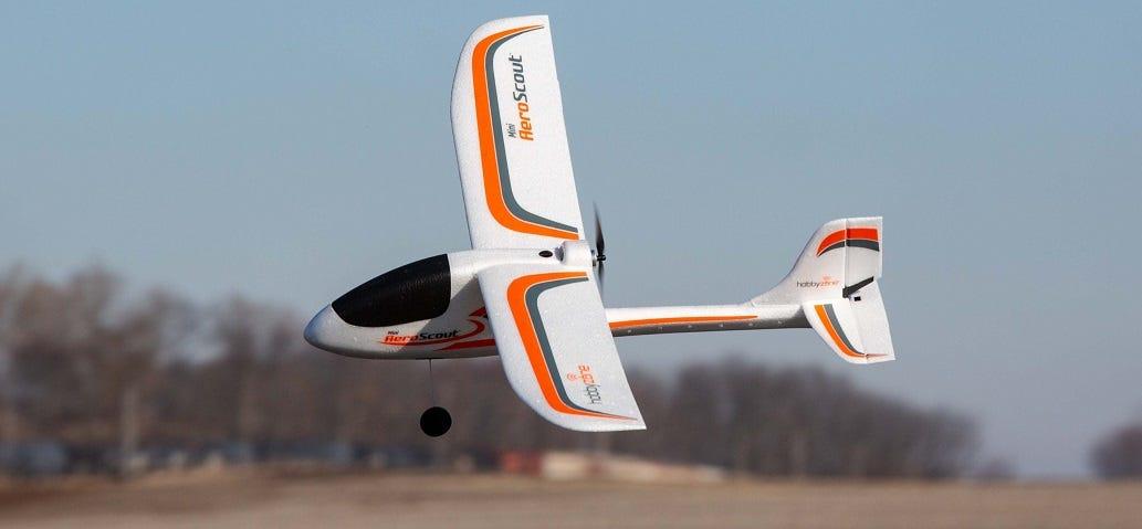 Mini RC Trainer Plane