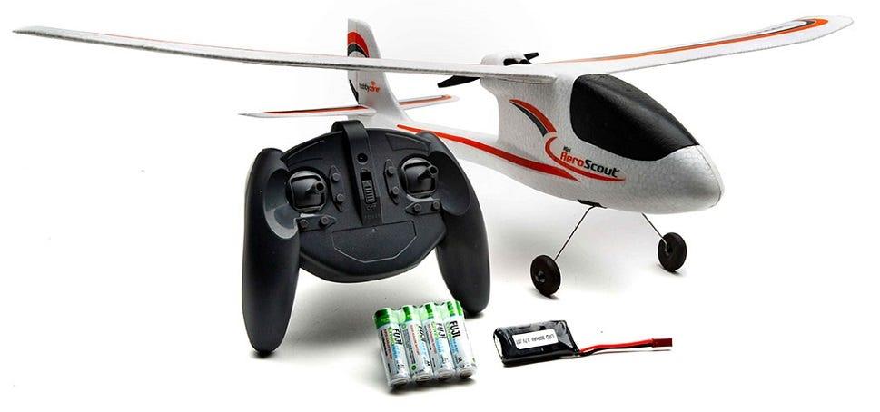 HobbyZone Mini AeroScout RTF RC Plane