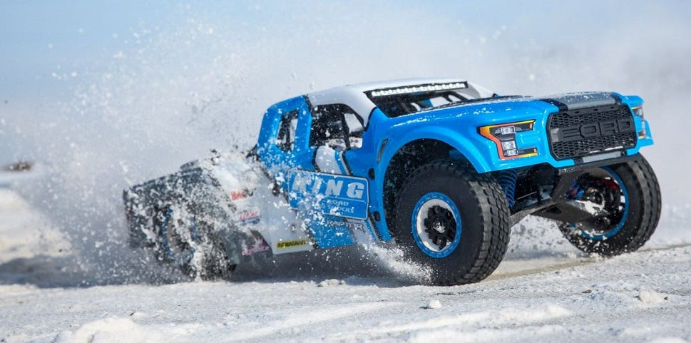 Losi King Shocks Ford Raptor Baja Rey