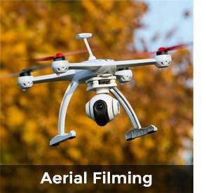 Quad aerial filming